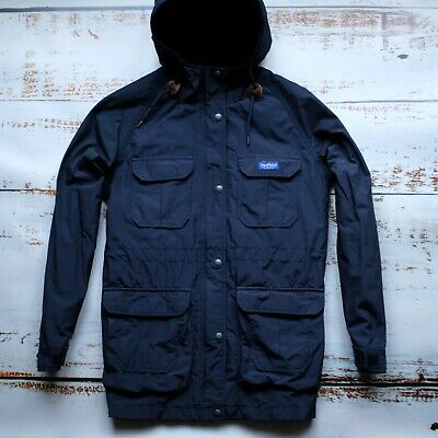 Penfield Kasson Men's Parka Jacket Size. S, Navy || Football Casuals, Terrace • 1£