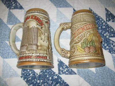 $ CDN62.77 • Buy Budweiser Limited Edition 1980 And 1981 Beer Stein W/Chicago Skyline, Vintage
