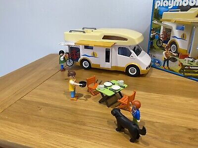 Playmobil 5928  Camper Van - Family Motor Home - With Box & Extra Figure • 3.20£