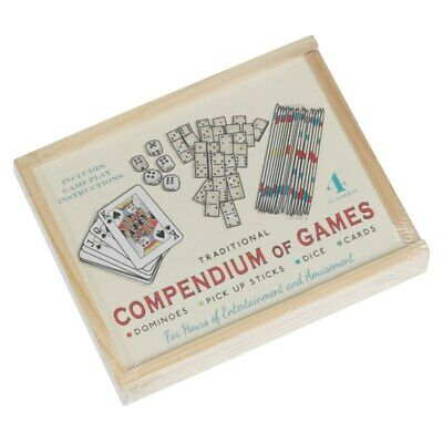 £5 • Buy Traditional Compendium Of Games - Travel, Holiday Games
