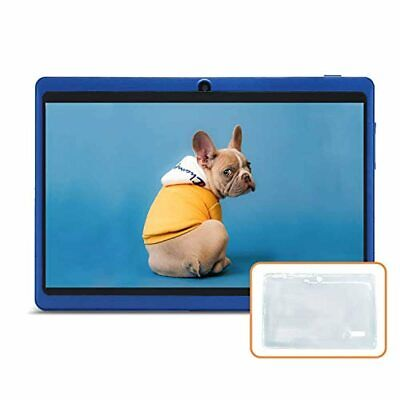 JINYJIA 7 Inches Tablet PC, Google Android 9.0 HD Tablet With Silicone Gel Trans • 64.49£