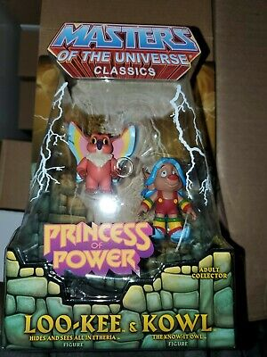 $120 • Buy Masters Of The Universe Classics Loo-Kee & Kowl He Man Heman She-ra