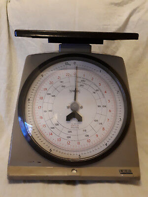 Vintage Salter Thermoscale Post Office Weighing Scales • 20£