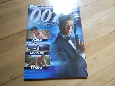 007 The James Bond Spy Cards Magazine Issue 22 (mag Only No Cards) • 0.99£