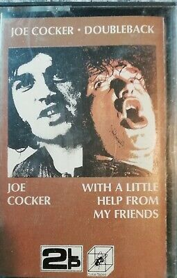 Joe Cocker Self Titled / With A Little Help From My Friends Double Play Cassette • 2.99£