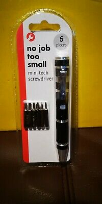 Pen Shape Gadget Xmas Stocking Filler Gift Mini Screwdriver Husband Boyfriend • 5.50£
