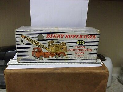 1950's Dinky Coles Lorry Mounted Crane Original Empty Box - Good Condition  • 4.99£
