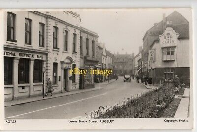 Old Photo Postcard Lower Brook Street RUGELEY • 4.99£