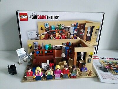 Lego Ideas Set 21302 Big Bang Theory Lego Complete With Box & Instructions • 62£