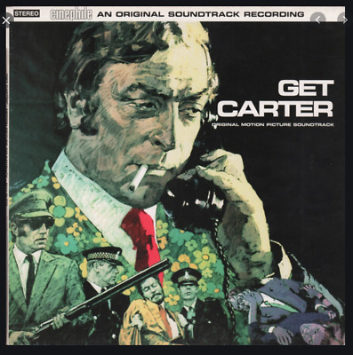Get Carter - An Original Soundtrack Recording Label: Cinephile ‎– CIN CD 001, Ci • 27.50£