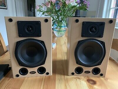 Gale Gold Monitor Mk2 Stereo Speakers 90 Watts & Wall Mounting Brackets • 10.40£