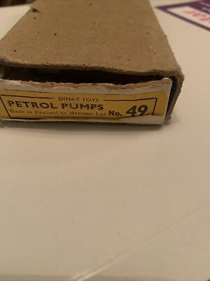 Dinky Toys No 49 Petrol Pumps. 1 Pump Missing. Boxed. • 21.03£