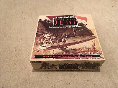 Parker Brothers Star Wars Return Of The Jedi Battle At Sarlacc's Pit Board Game • 5£