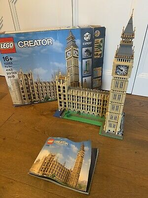 LEGO BIG BEN - CREATOR - 10253 RETIRED. With Box And Instructions • 77£