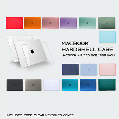 AU17.95 • Buy MacBook Hard Case + Keyboard Cover For Apple Air 11  13  12  Pro 13  16  Inch