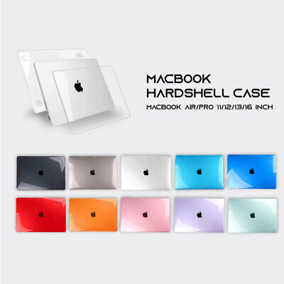 AU18.95 • Buy MacBook Hard Case + Keyboard Cover For Apple Air 11  13  12  Pro 13  16  Inch
