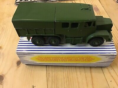Dinky SuperToys 689 Medium Artillery Tractor Boxed  • 49.99£