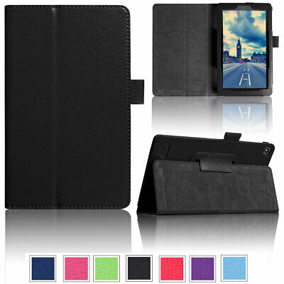 AU13.42 • Buy For Amazon Fire HD 10 8 7 9th 8th 7th Gen Leather Smart Stand Tablet Case Cover