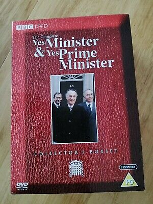 Yes Minister & Yes Prime Minister - The Complete Box Set DVD, 2006, 7-Disc Set • 3.20£