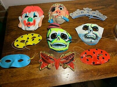 $ CDN31.62 • Buy Vintage  Misc 1960s HALLOWEEN And Party 9 Pieces