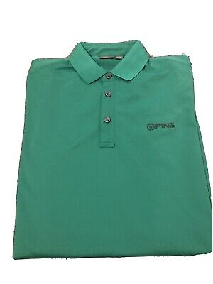 PING Lincoln Golf Shirt SMALL *Worn Once* • 10£