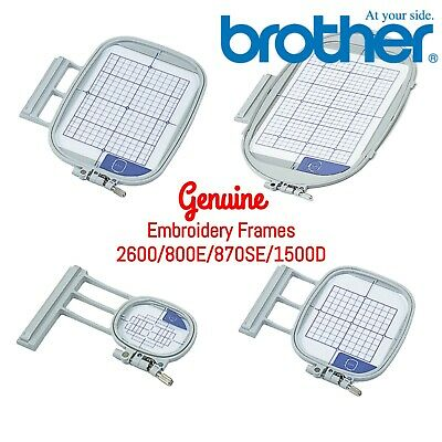 Genuine Brother Embroidery Machine Hoop Frames - NV2600 NV800E NV870se • 48.99£