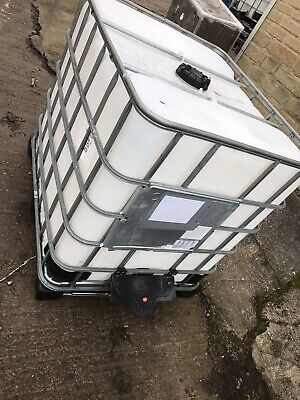IBC Water Tank. 1000 Litre IBC Container. Water Storage • 39.99£
