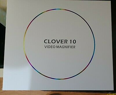 Clover 10 Electronic Magnifier With Stand • 700£