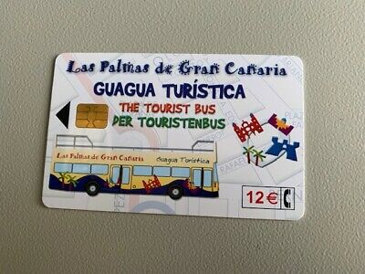 Collectable Rare Telefonica Phone Card Las Palmas Guagua-recorded Post • 52.95£