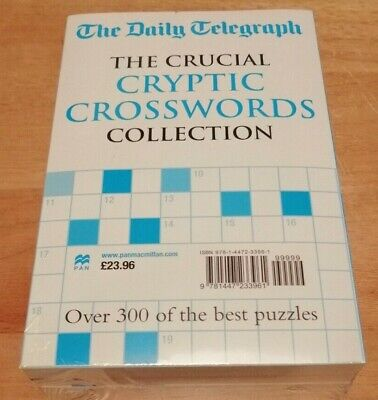 £179.10 • Buy The Daily Telegraph Cryptic Crosswords Collection (Set Of 4 Books)