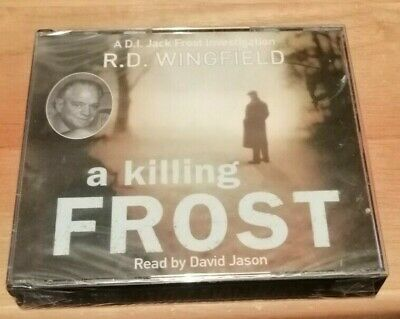 A Killing Frost By R D Wingfield Audio CD X 3 New Sealed • 28.99£