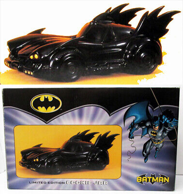 Vandor Warner Bros Batman Batmobile #'d Ltd Ed Ceramic Cookie Jar Sealed In Box • 47.03£
