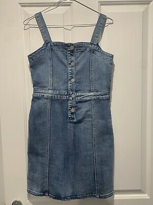 AU20 • Buy Seed Teen Denim Dress Size 16 - New With Tags
