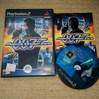 James Bond 007 In…Agent Under Fire   - Rare Sony PS2 Game • 2.99£
