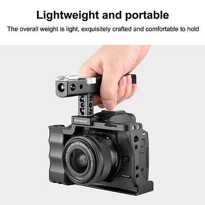 £43.28 • Buy PULUZ Protective Camera Video Cage Steadicam Rig For Canon EOS M50 DSLR