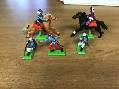 Britain's Detailed Toys French Foreign Legion&One Arab Horseman Unboxed. • 7.99£