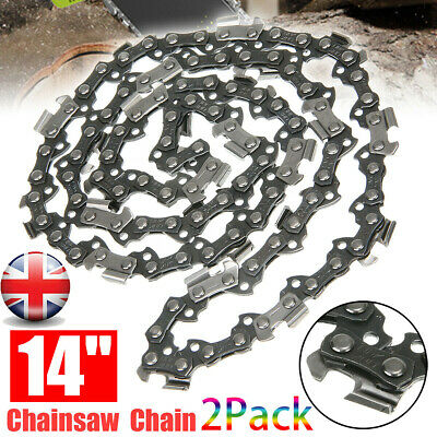 £10.59 • Buy 2PCS Chainsaw Chain 14  In 52 Drive Links 3/8  0.50  For HUSQVARNA 135 235 236
