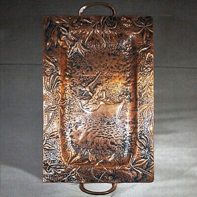 Stunning Arts And Crafts Heavy Copper Tray Keswick School Of Industrial Arts? • 199£