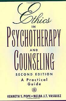 Ethics In Psychotherapy And Counseling: A Practical G... | Book | Condition Good • 5.96£