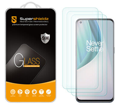 AU12 • Buy [3-Pack] Supershieldz Tempered Glass Screen Protector For OnePlus Nord N10 5G