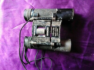 TASCO VOYAGER Binoculars  10x35  UNTESTED Complete But Sold As Spares Repairs   • 3£