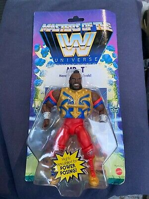 $19.99 • Buy WWE Masters Of The Universe Mr. T Wave 4