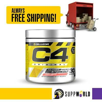AU54 • Buy C4 ID Pre-Workout By Cellucor - Original Explosive Pre | Free Shipping