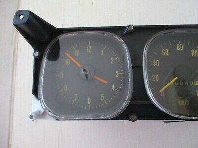 AU450 • Buy Holden Lx Torana  Dash  Instrument Cluster With Speedo Clock Fuel Gauge Loom