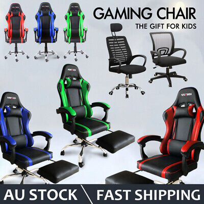 AU139.35 • Buy 2020 NEW Gaming Chair Office Computer Leather Chairs Racer Executive Racing Seat