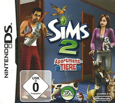 £7.16 • Buy The SIms 2 Apartment Tiere EA Nintendo DS DSi 3DS 2DS