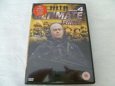 'ultimate Force - Series 4' Dvd • 1.99£