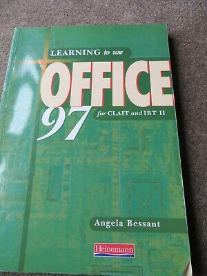 Learning To Use Office 97 For CLAIT And IBT II By Angela Bessant (Paperback,... • 0.99£