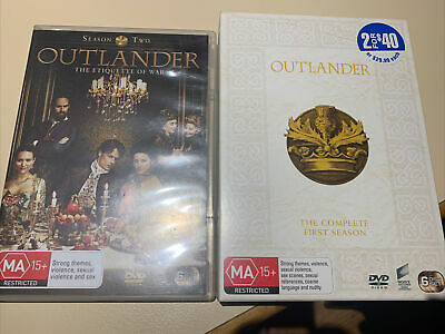 AU39 • Buy Outlander Complete Season Series 1 + 2 DVD Box Set 12 Discs Watched Once As New