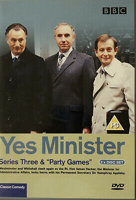 Yes Minister - Series 3 (DVD, 2003) • 0.99£